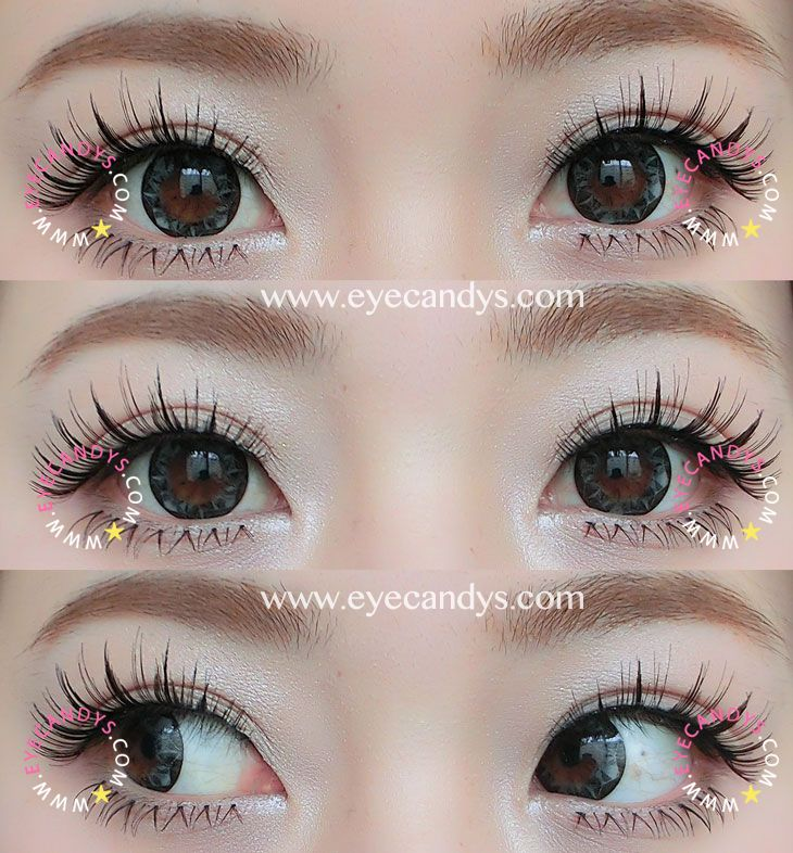 Comfy Circle Lens. These NEO Vision Ruby Queen Grey circle contact lenses feature a multi-faceted diamond cut designed the frame the iris. Mega cute! The most popular circle lenses from EyeCandy's collections!