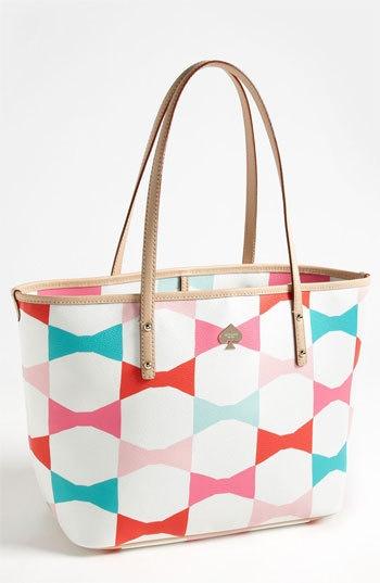 Kate Spade bag. I love bows. So obviously I love this bag.