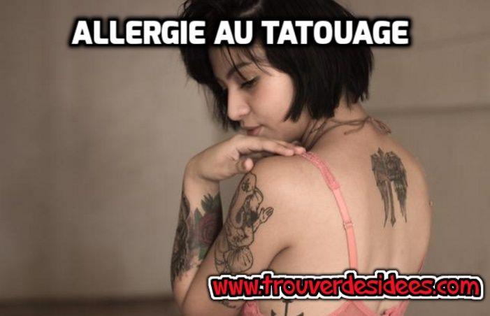 Peut-on vraiment souffrir d'une allergie au tatouage ? #tatouage #peau #allergie
