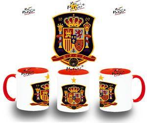 TAZA SELECCION ESPAÑOLA tazze tasse coupe mug colores españa mundial futbol 2014 | eBay