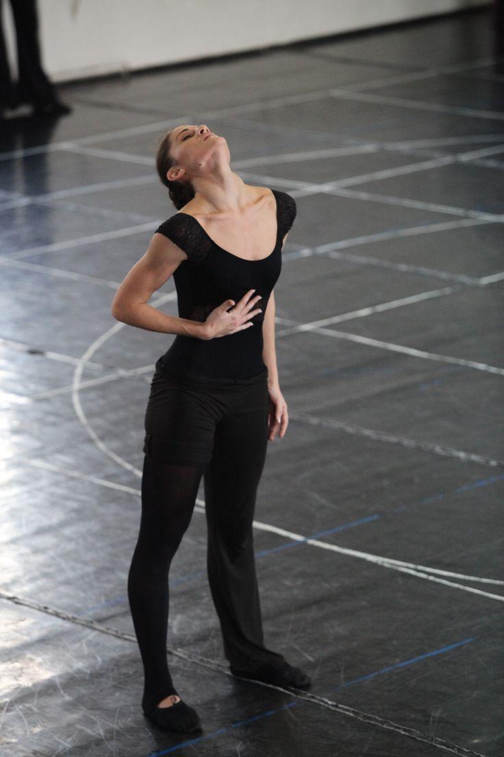 Alexandra Gavrilescu, scenă din repetiţii / rehearsals scene
