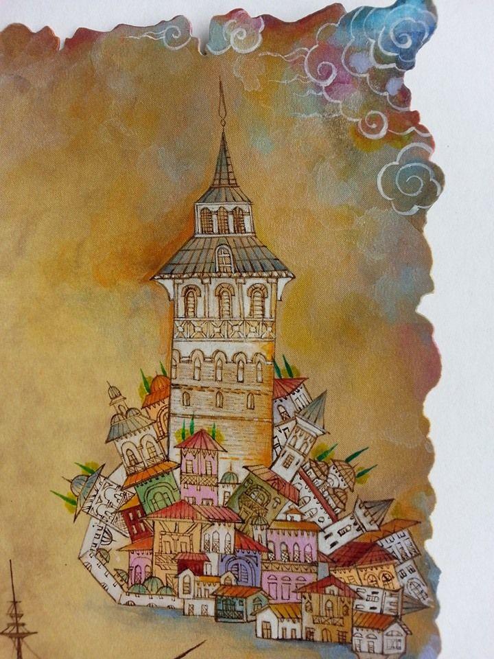 Nurten Ünver - Kız kulesi - gemi - detay