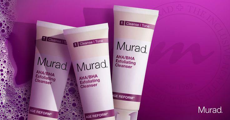De intensieve cleansers van Dr. Murad reinigen, verhelderen en verzachten je huid.