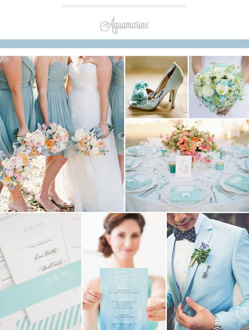 Beautiful Blue! All about the perfect wedding: 2015 Summer Top 3 Bridesmaid Dresses Color Trends!