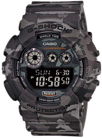 Mens G-Shock Camouflage Series // GD-120CM-8 // #Casio #GShock #Watch // #WatchCentre #Melbourne #Australia #FreeShipping
