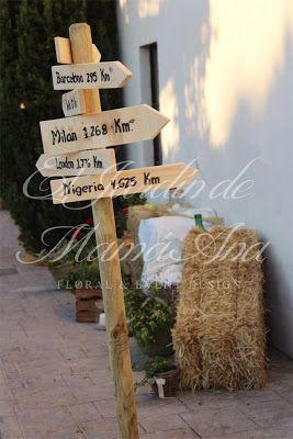 Detalles de decoración. Weddings in Spain. www.eljardindemam... Facebook: www.facebook.com/... Blog: eljardindemamaana