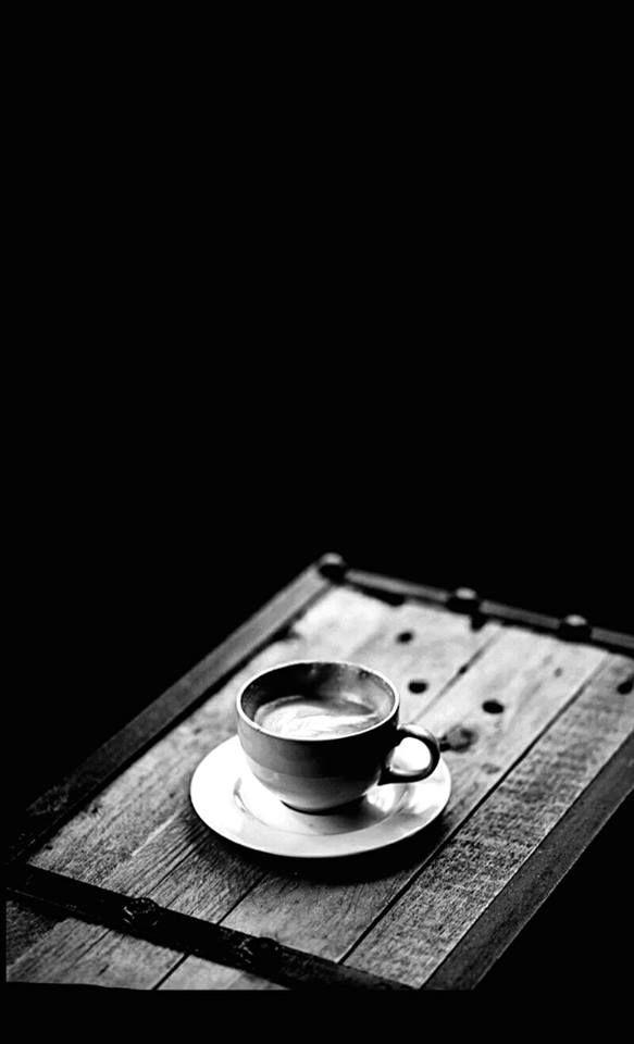 morning coffee schwarz weiss fotos