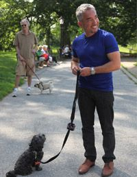 Get advice from the Dog Whisperer himself and find out how to walk a difficult dog.
