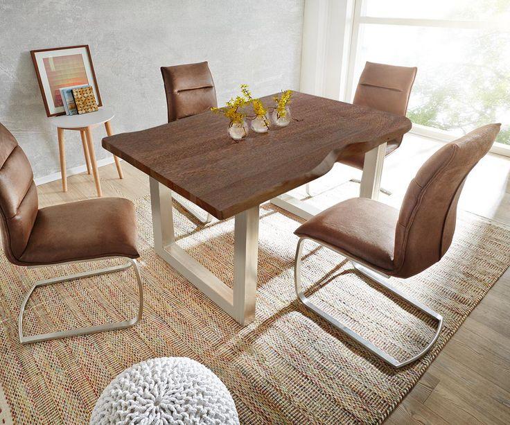Massivholzmöbel tische  Die besten 25+ Massivholzmöbel Ideen auf Pinterest | Holzbalken ...