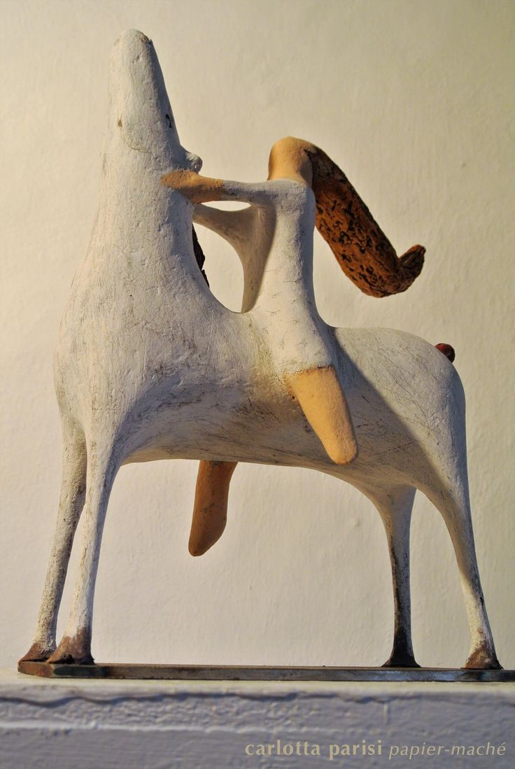 Omaggio a Marino Marini - Cavallo di papier-maché