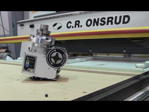 InnoAgg Labeling Aggregate on C.R. Onsrud CNC Router