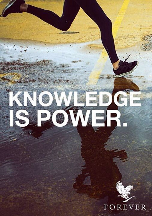 WOW - how true it is that knowledge empowers us! And the start of a New Year is a great time to find out about achieving optimum fitness with Forever health products. Click the Slideshare link for info about 9-day Aloe Vera Diet and its follow-on plan, F15.