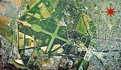 Versailles: Aerial View