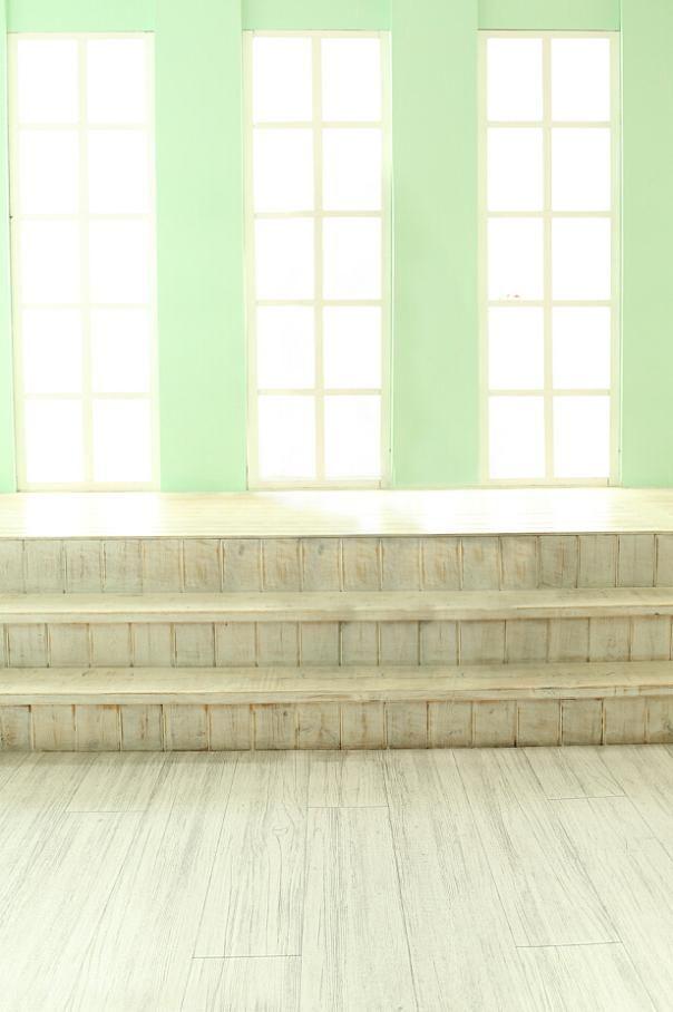 Фотографии фонов 300 см * 600 см ( 10ft * футов ) окна лестницы деревянные полы fundo fotografico LK4248