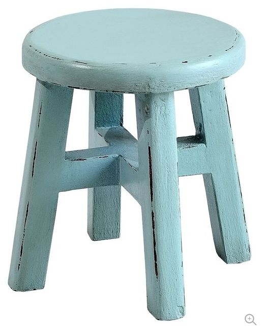 Set of 2 Rustic Wooden Stools ($68 for both) http://www.houzz.com/photos/46071694/Child-Stool-Set-of-2-Island-Blue-rustic-kids-step-stools-and-stools
