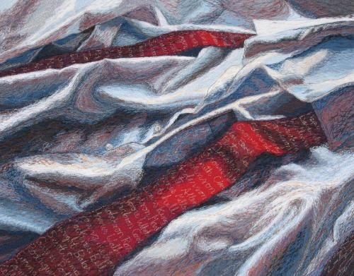 Punaisessa solmiossa sotilaiden nimet, 2007, Helena Vaari, Hollola Finland