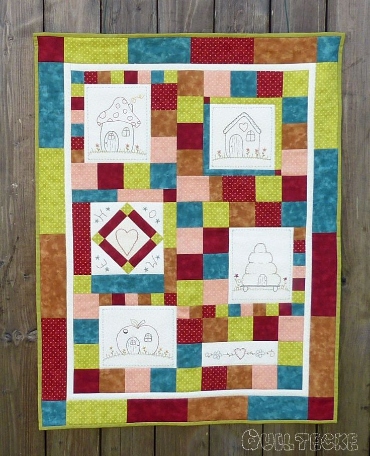 Houses Free BoM von Diana / Quiltecke