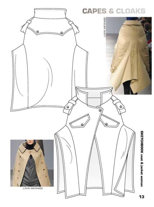 FASHION VIGNETTE: >>TRENDS - SKETCHBOOK FALL/WINTER 2013-14