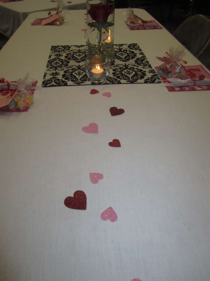 Valentine sweethearts valentine 39 s day party ideas ideas for Valentine day dinner party ideas