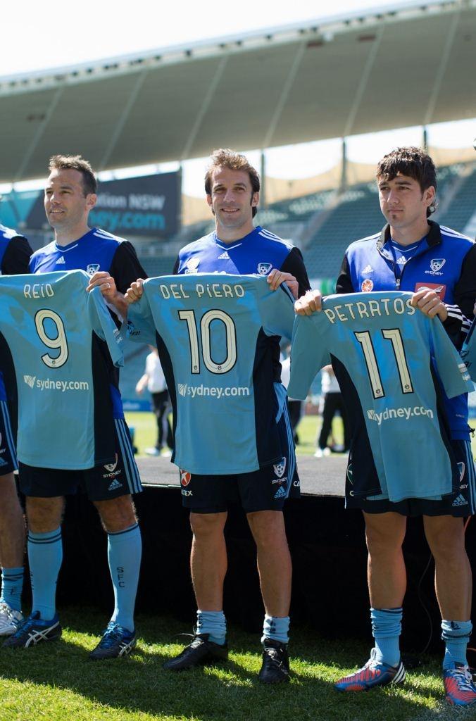 Sydney FC Shirt Presentation Pics Sep 23, 2012
