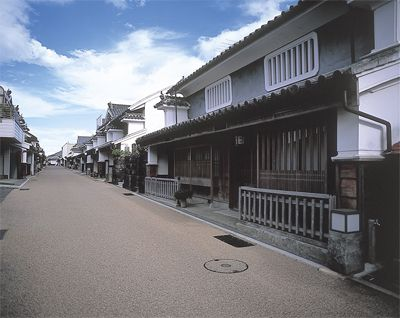 Udatsu Townscape. Looking for more information about Tokushima? Go Visit Tokushima Prefecture. http://www.pref.tokushima.jp/