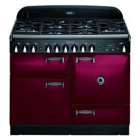 Aga Legacy 44-In 6-Burner 2.4-Cu Ft/2.4-Cu Ft Double Oven Convection D