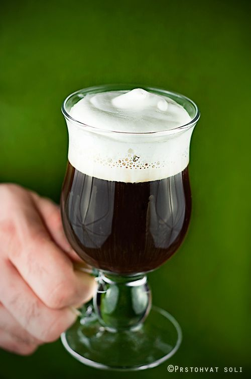 A real Irish Coffee for St. Patrick's Day