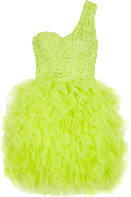 neon party dress!
