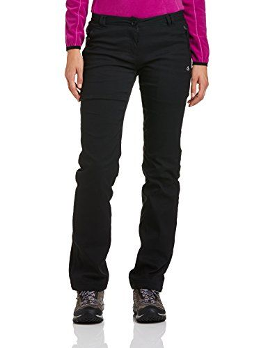 Craghoppers Womens Pro Winter Lined Walking Trousers 12 US  Short Black >>> You can find out more details at the link of the image.