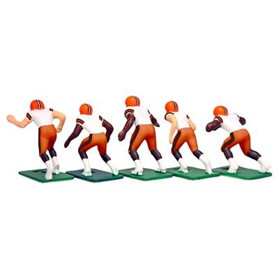 NFL Cleveland Browns Tudor Games Away Uniform Electric Football Action Figure Set