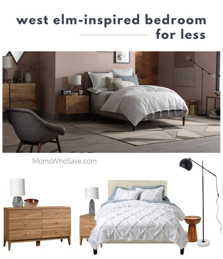 Wouldn't you love to recreate the stylish rooms you see from West Elm in your home? Here's a West Elm-inspired bedroom d…