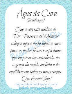 Magia no Dia a Dia: Água da Cura http://magianodiaadia.blogspot.com.br/2017/06/agua-da-cura.html