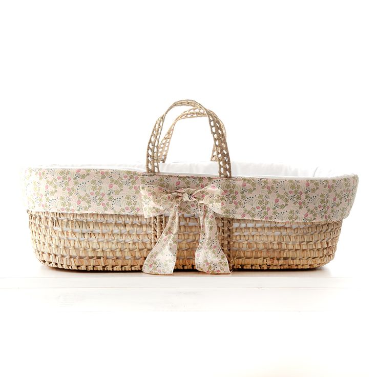 Moses Basket In Liberty Print