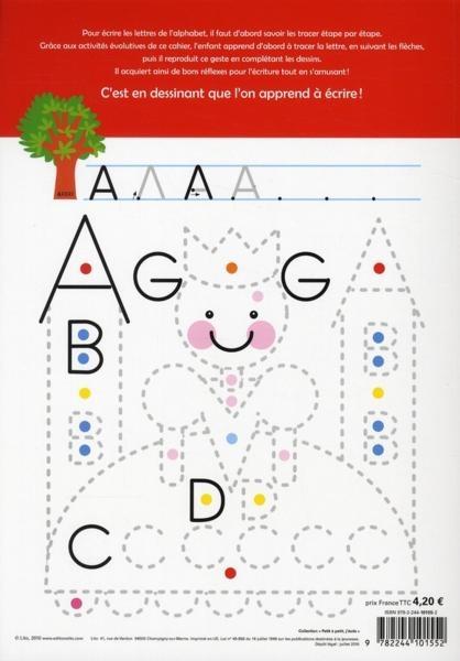J'ecris l'alphabet ! maternelle, moyenne et grande section