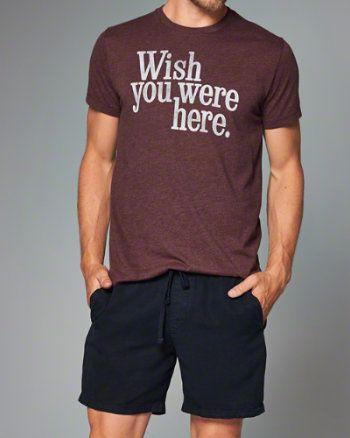 Uomo - Magliette stampate Topwear | eu.Abercrombie.com