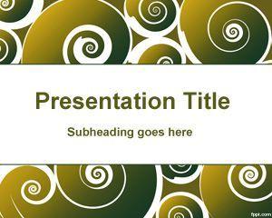 El fondo de PowerPoint piruetas es un diseño coqueto para PowerPoint que puede descargar para presentaciones de PowerPoint como fondo de diapositivas abstracto