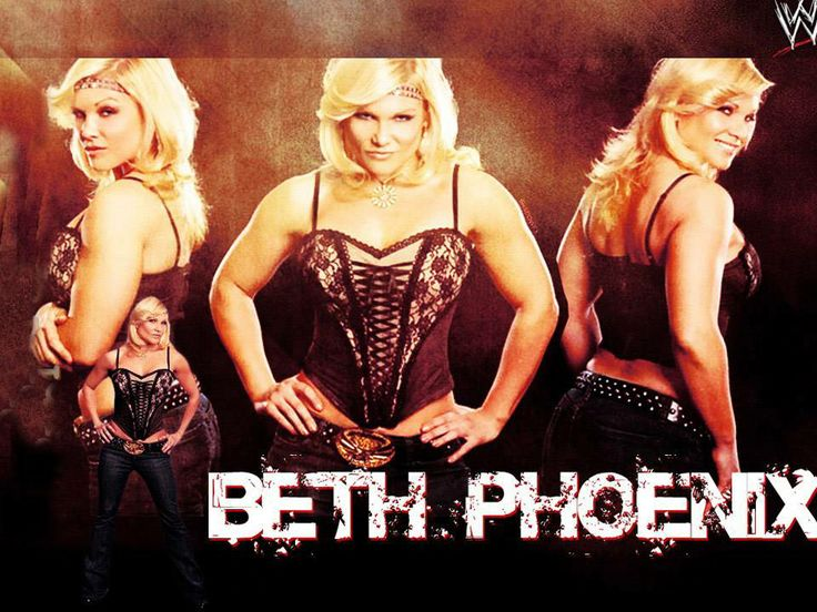 "#Elizabeth ""Beth"" Kocianski Carolan is an #American professional #wrestler, better known by her ring name #Beth #Phoenix. She is best known for her time with #WWE, where she is a former WWE #Divas #Champion and a three-time WWE Women's #Champion."
