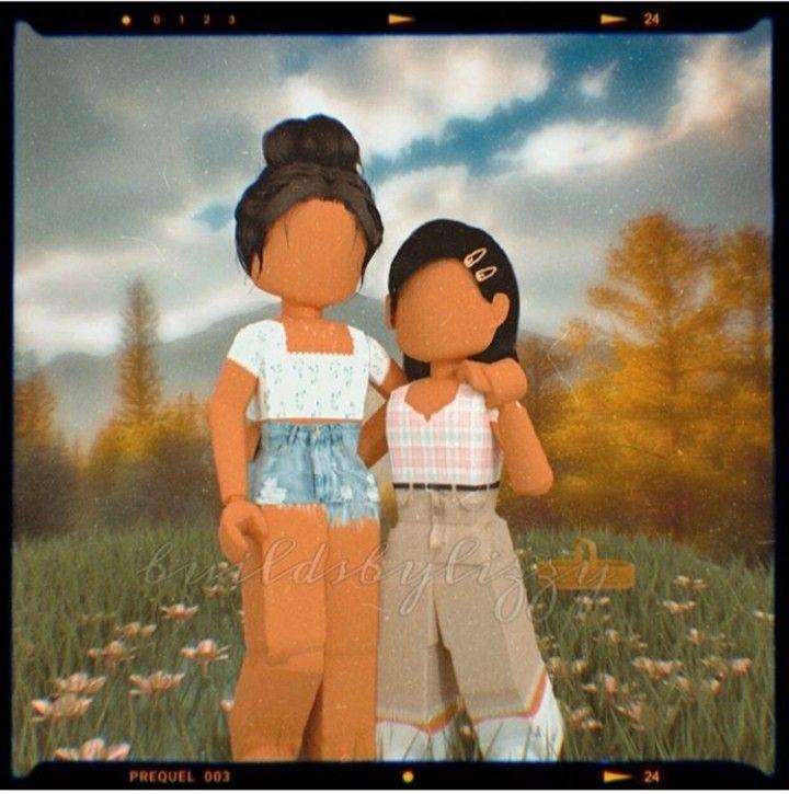 Cute Mom And Daughter Roblox Roblox Animation Roblox Cute Tumblr Wallpaper