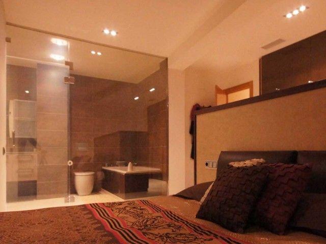 Baño en dormitorio. Decoración Alado