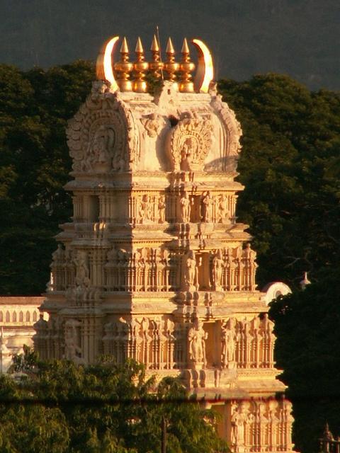 Chamundeshwari Temple, Chamundi Hill, Mysore, Karnataka, India, by Dorchie, via Flickr
