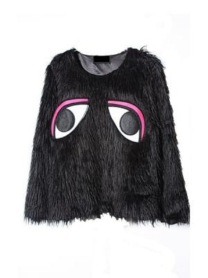 Cute Eye Print Jumper