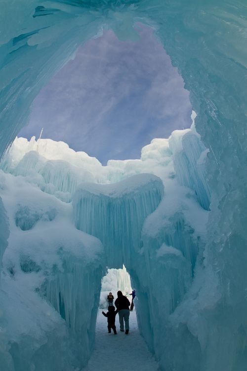 Ice Castle by Bill Church