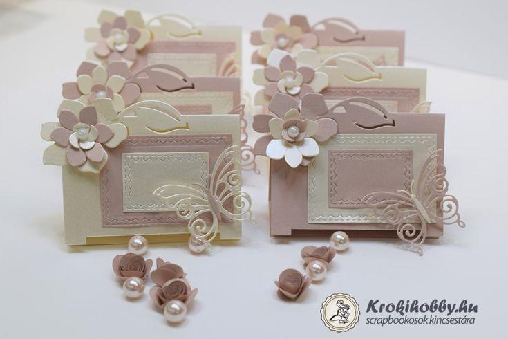 Ültetőkártya virággal - Sizzix Thinlits 661883
