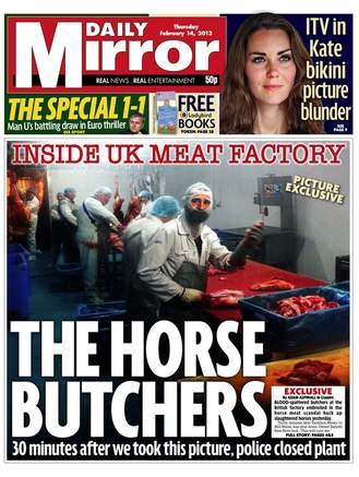 Scale of the horse meat scandal is 'breathtaking', MPs say ➤ http://www.telegraph.co.uk/foodanddrink/foodanddrinknews/9869087/Scale-of-the-horse-meat-scandal-is-breathtaking-MPs-say.html - The Telegraph - 2013 02 14