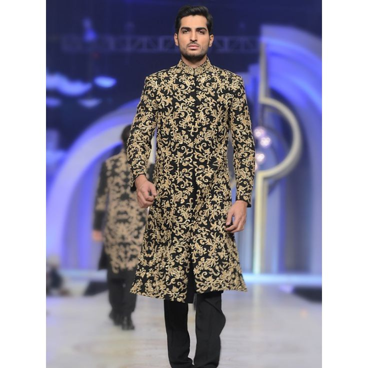 HSY Latest Men Wedding Dresses Sherwani Designs 2017-2018