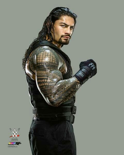 Roman Reigns- definitely a Wrath type situation.