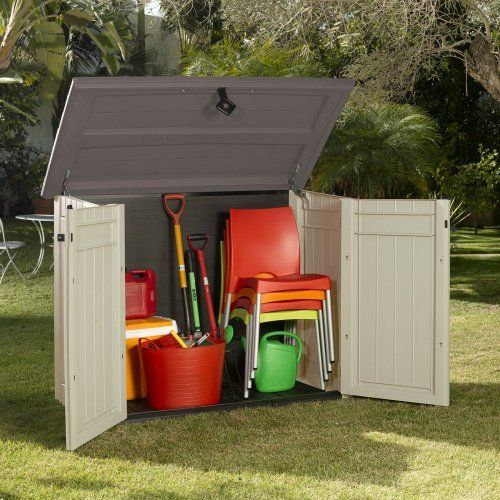 Keter Store-It Out Storage Shed, X-Large - The Store It Out XL is an all-weather, ventilated storage solution that is perfect for your lawn, garden, deck or patio.