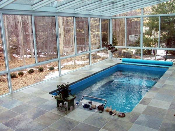 106 best sunroom ideas images on pinterest sunroom ideas for Inground pool greenhouse