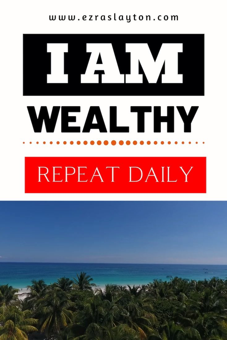 Money Affirmations Wealth | Law of Attraction | Go To EzraSlayton.com For More Affirmations.