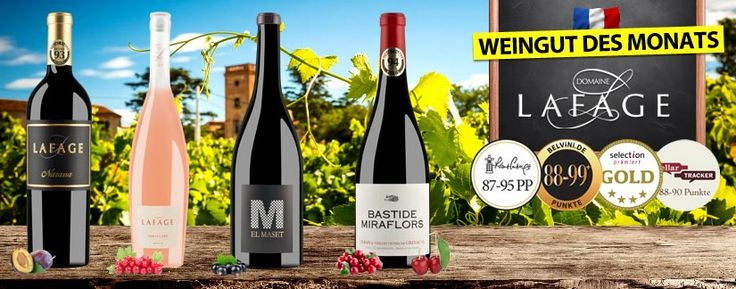 Lafage ~ Weingut des Monats ~ Wunderwerke weitgereister Weltklasse-Winzer - http://weinblog.belvini.de/lafage-weine